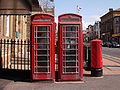 Red telephone boxes, Talbot Square, Blackpool2.jpg