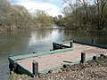 Redhill, fishing platform on the Stour - geograph.org.uk - 734897.jpg