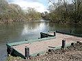 Redhill, fishing platform on the Stour - geograph.org.uk - 734897.jpg