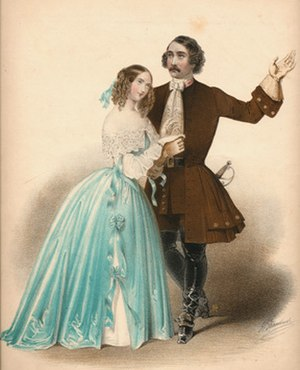 Sims Reeves - Reeves with Catherine Hayes at La Scala, 1846