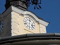 Reformed church clock, Kalvin Square, 2016 Szekszard.jpg