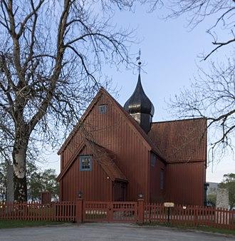 Rein Church - Image: Rein kirke 2013