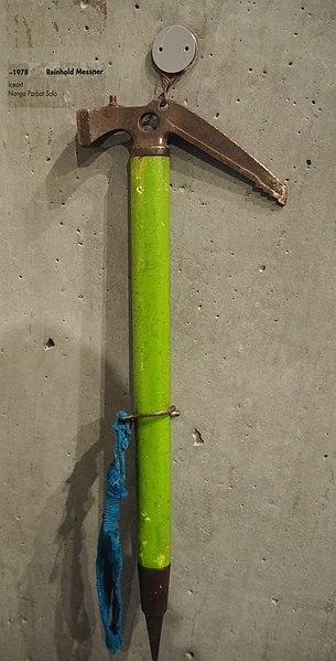 File:Reinhold Messner Nanga Parbat Iceaxe 1978 (MMM Corones).jpg