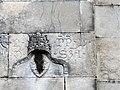 Relief on Pieve di Sant Andrea (Sarzana, Italy) pope.jpg