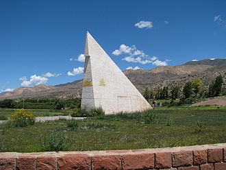 Tropic of Capricorn - Sundial on the Tropic of Capricorn, Jujuy Province, Argentina