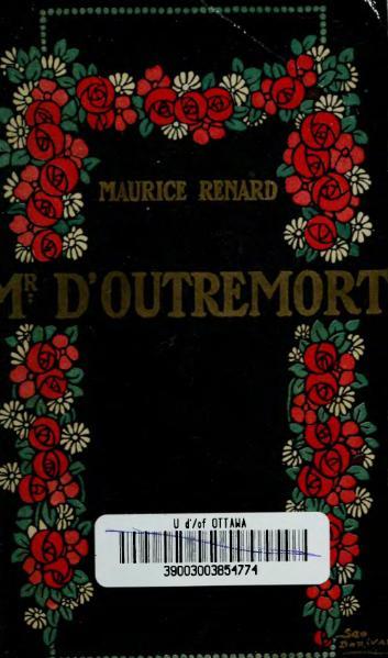 File:Renard - Outremort et autres histoires singulières, Louis-Michaud, 1913.djvu