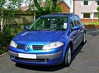 Renault Megane II Blue Front
