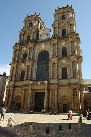 Roman Catholic Archdiocese of Rennes, Dol and Saint-Malo - Rennes Cathedral