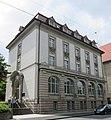 Repräsentatives Bankgebäude in der Bahnhofstraße - Eschwege - panoramio.jpg