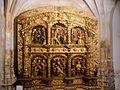 Retablo plateresco del siglo XVI procedente de la iglesia de Santa María de Peñafiel. (Museo de Arte Sacro de Peñafiel).JPG