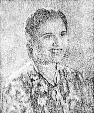 Retna Djoewita , female lead of Soeara Berbisa