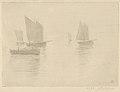 Return from Fishing, Honfleur (Retour de Peche, Honfleur) (Bateaux dans le brouillard - Boats in a Fog) MET DP834429.jpg