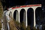Schmittentobel-Landwasser Viaduct of the Rhaetian Railway