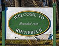 Rhinebeck, NY, welcome sign.jpg