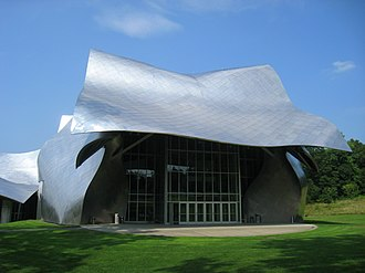 Richard B. Fisher Center for the Performing Arts - South (front) elevation, 2009