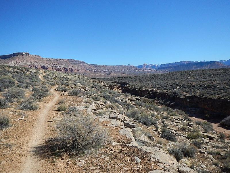 File:Rim Trail in Hurricane, Utah - panoramio.jpg