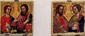 Serafino de' Serafini - Four Apostles, City Museum of Rimini