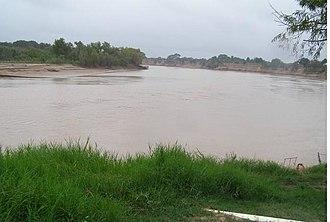 Bermejo River - The Bermejo River at Presidencia Roca in the Argentine Gran Chaco