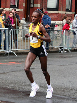 Rita Jeptoo at the 2007 Boston Marathon.jpg