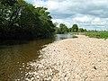 River Eden below Musgrave Bridge - geograph.org.uk - 2275404.jpg