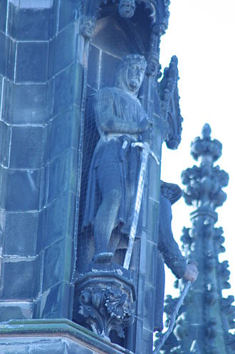George Anderson Lawson - Robert the Bruce by George A Lawson, Scott Monument, Edinburgh
