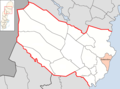 Robertsfors Municipality in Västerbotten County.png