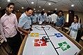 Robot Testing Session - Workshop on Organising Indian and World Robot Olympiad - NCSM - Kolkata 2016-03-07 2311.JPG