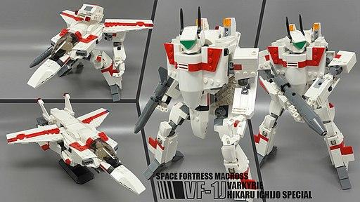 Robotech - VF-1 Valkyrie (Jack Archer Veritech Figure)