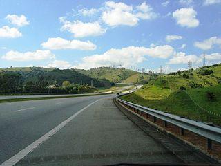 Rodovia Ayrton Senna highway in São Paulo