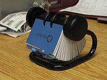 rolodex 67236 rotary business card file - Business Card Rolodex
