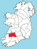 Roman Catholic Diocese of Limerick map.png