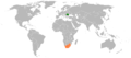 Romania South Africa Locator.png