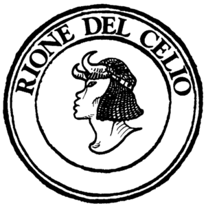 Celio (rione of Rome) - Logo of the rione