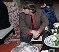 Ron Reagan watching 1984 election returns C25663-10.jpg