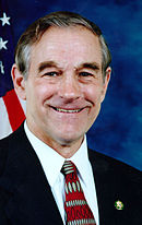 Ron Paul; candidate nominated by the Libertarian Party.