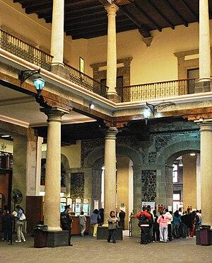 Nacional Monte de Piedad - One of the rooms inside the building