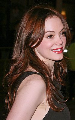 Rose McGowan 2008.