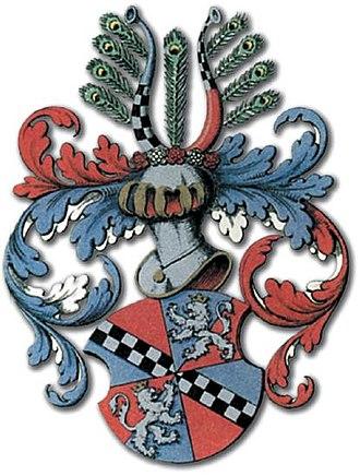 Arild Rosenkrantz - The coat of arm of the noble Danish Rosenkrantz family