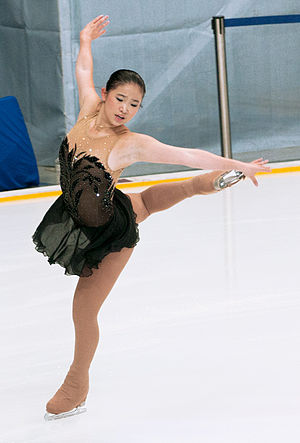 Caroline Zhang - Zhang at the 2012 Rostelecom Cup.