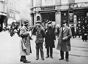 Members of the Ruhr Red Army, Dortmund, 1920