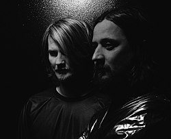 Röyksopp in September 2014