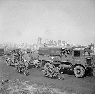 AEC Matador Medium artillery tractor
