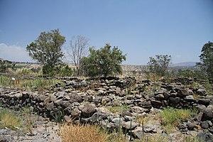 Ruins of Bethsaida village in summer 2011 (5).JPG
