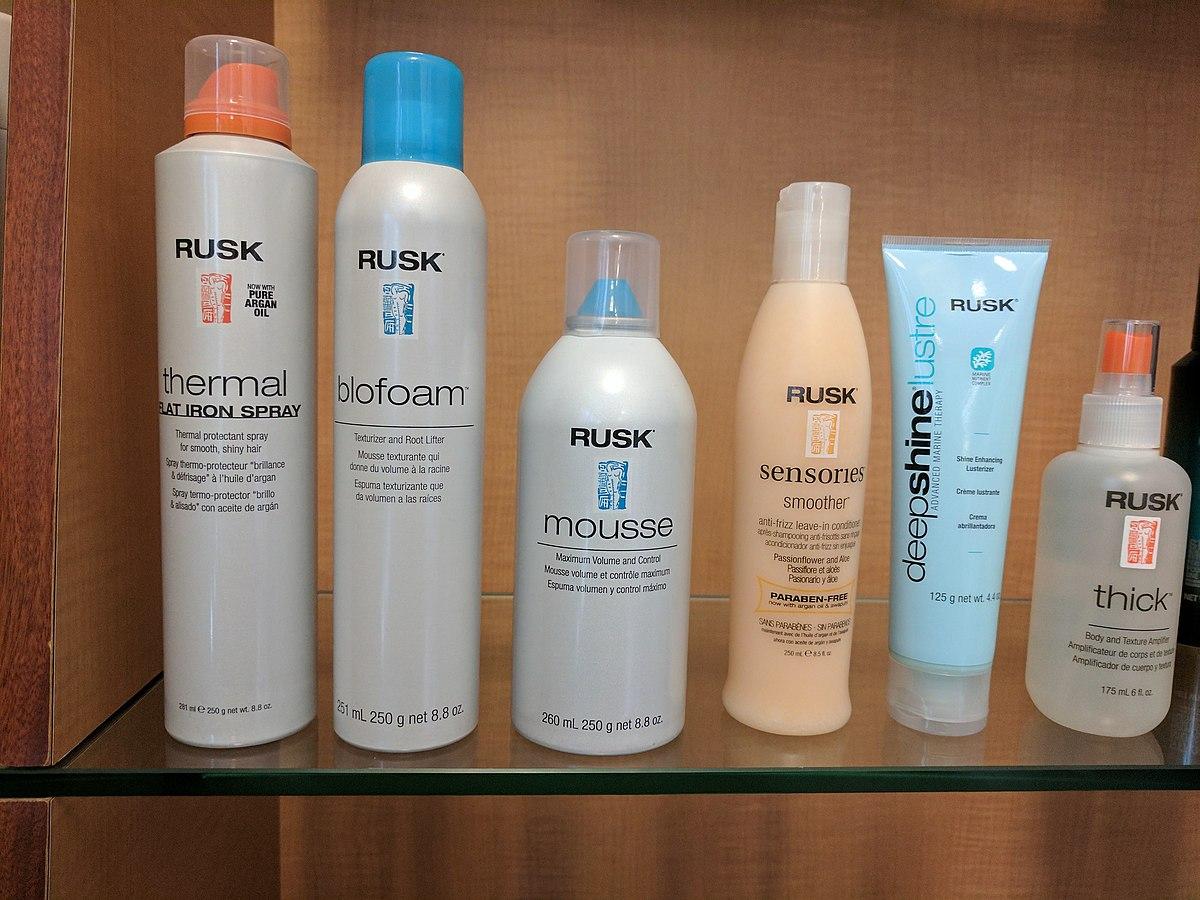 rusk hair care wikipedia
