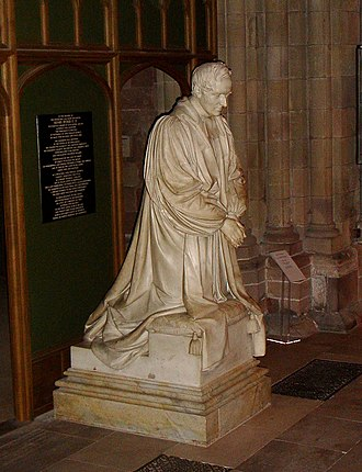 Henry Ryder - Monument to Bishop Ryder by Sir Francis Legatt Chantrey in Lichfield Cathedral