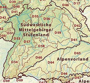 Iller-Lech Plateau - The Iller-Lech Plateau (region D64)