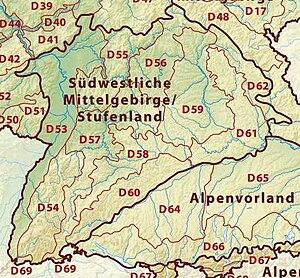 South German Scarplands - South German Scarplands