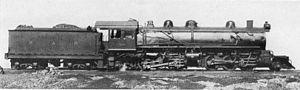 2-6-6-2 - SAR Class MG