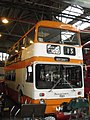 SELNEC bus 7001 (VNB 101L), Museum of Transport in Manchester, 4 October 2008.jpg