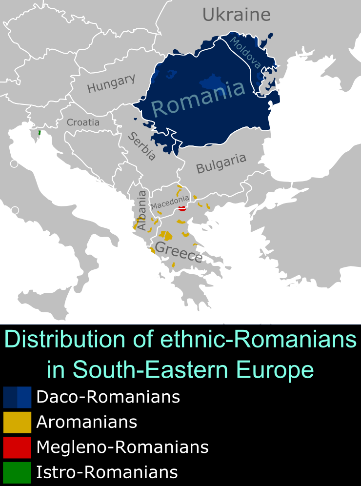 SE Europe Romanians
